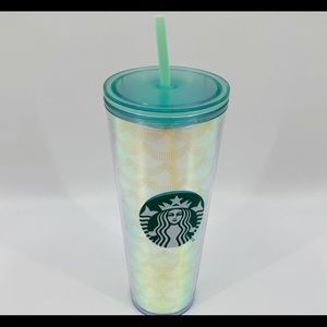 Starbucks Holographic Mermaid Siren Tumbler